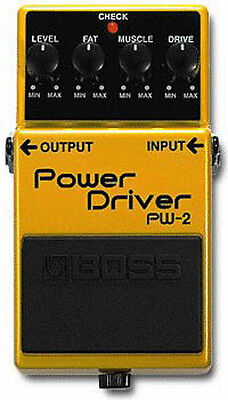 Boss PW-2 Power Driver Distortion Guitar Effects Pedal PW2