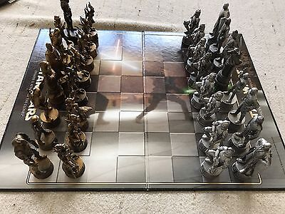 Star Wars Chess Board Game Episode Two Attack Of The Clones