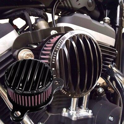 Air Cleaner Intake Filter System For Harley Sportster Dyna Softail XL883 XL1200