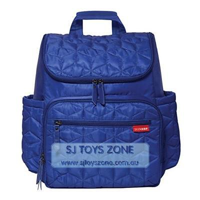 Skip Hop Forma Pack and Go Diaper Backpack with Cushioned Changing Pad - Indigo