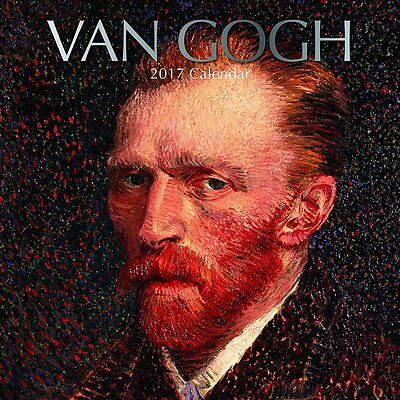 Van Gogh 2017 Wall Calendar NEW by the Gifted Stationery