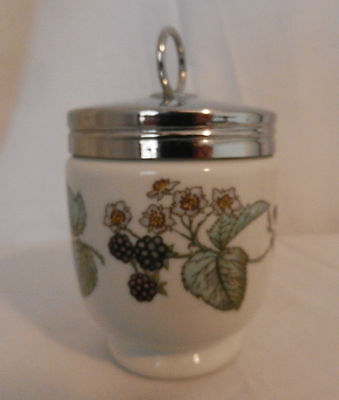 Egg Coddler Royal Worcester Porcelain Egg Coddler In Great Condition.