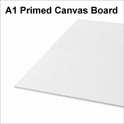 A1 Artist Canvas Boards Primed Panel Acrylic Oil Painting 100% Cotton