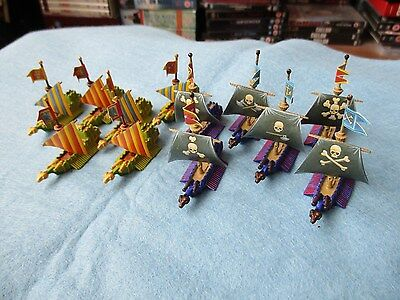 Games Workshop Man O'War Well Painted Empire/Pirate Galleys