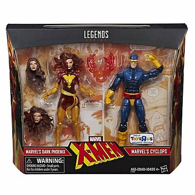 Marvel Legends Dark Phoenix and Cyclops X-men 2 Pack AF - Toys R Us Exclusive