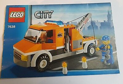 LEGO City Tow Truck #7638 Instruction Manual only - Free Post