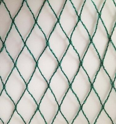 100m x 8m Wide Green Bird Netting - Bulk Roll