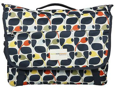 Olive And Orange By Orla Kiely Waterproof Cycling Bike Bicycle Pannier Bag