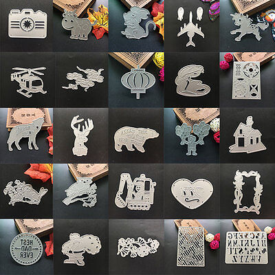 Silver Metal Cutting Dies Scrapbooking Embossing Stencil Craft Album Decor Party
