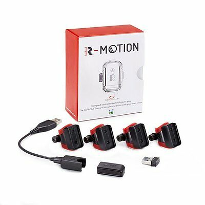 R-Motion Golf Simulator Package RM01A With The Golf Club Software. 4 Head Pack