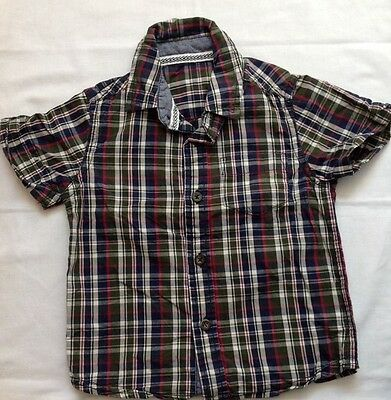 Baby Boys Shirt 12-18 months Checked top (1-2 years) clothes