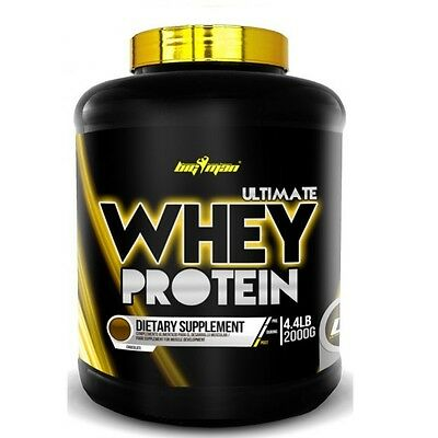 PROTEINAS BIGMAN ULTIMATE WHEY PROTEIN 2Kg  cookies and cream