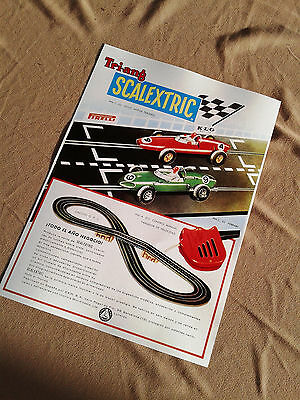 1962&1963 Early Scalextric Exin Toys Sellers Advertising