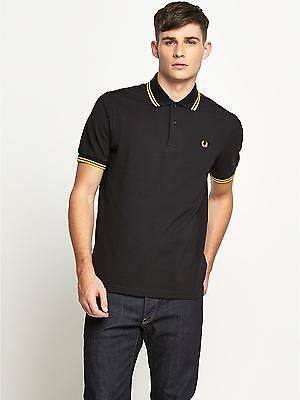 Fred Perry Twin Tipped Polo Shirt For Men