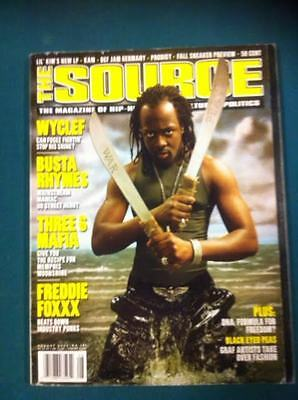The Source Magazine with Wyclef on the cover August 2000