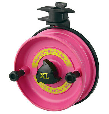 Alvey 600B XLTP Turbocast Pink Spool. rods cast nets 4x4 By Order Only