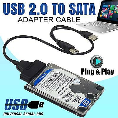 2.5″ USB To SATA External Hard Disk Adapter Drive HDD SSD Lead Cable Converter