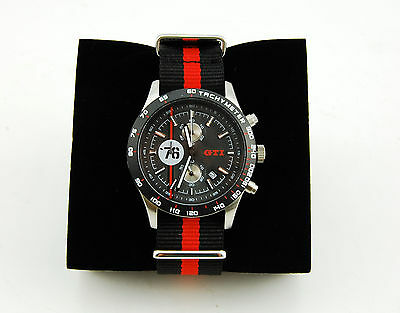 VW GTI 76 Racing Stailness Stell Automatic Watch