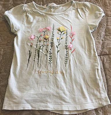 Girls Youth Size 4-6Y H&M Summer Top