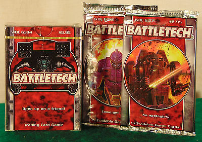 BATTLETECH Theme Deck & 2 Boosters--Factory Sealed