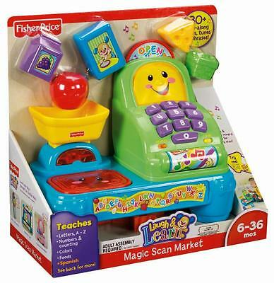 Fisher Price Laugh & Learn Magic Scan Market 30+ Songs Tunes & Phrases W9792