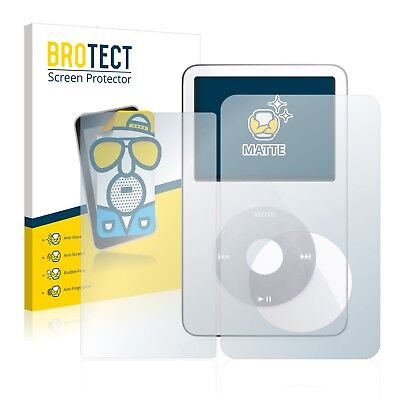 2x BROTECT Matte Screen Protector for Apple iPod classic video 5. Generation,