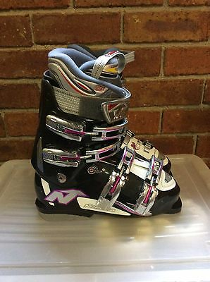 Nordica Olympia GTS Ladies Ski Boots, Size 25.5 (about 8-8.5) as new