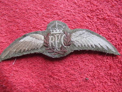 Royal Flying Corps Khaki Pilots Wings