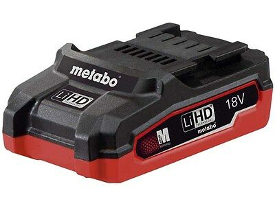 Metabo 625343000 18v 3.1Ah LiHD Battery Brand New