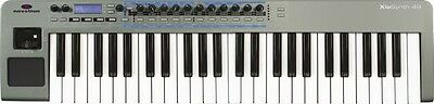 Novation Xio 49 Synthesizer, Audio interface, MIDI controller, Realtime Effects