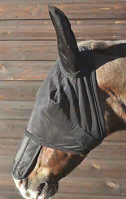 Hy Anti-UV Fly Mask with Sunshield & Ears for Horses 4 Sizes 2451P