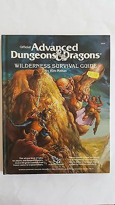 Wilderness Survival Guide Hc Advanced Dungeon & Dragons- Tsr #2020 Vnc