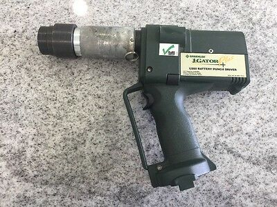 Greenlee Gator Plus LS60 Battery Punch Driver (560)