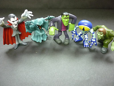 "Scooby Doo Mystery Mates: 5 Monsters 3"" Mini Figures"