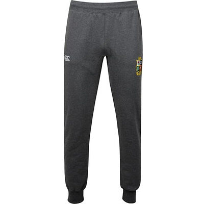 British & Irish Lions Mens Open Hem Charcoal Combi Sweat Pants