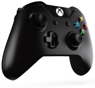 Xbox One Wireless Controller Black 3.5mm Jack - Grade B+ Brown Boxed 12 Months