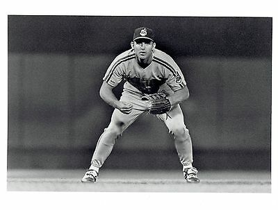1989 Original Photo by LAYTON Cleveland Indians baseball ROOKIE player Jim Thome