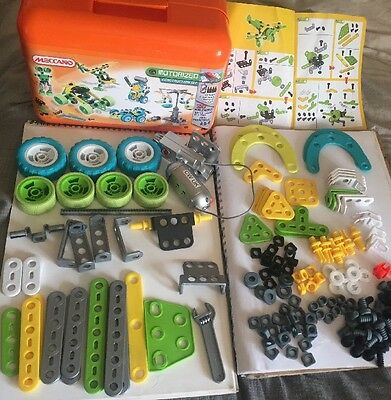 MECCANO 1993 Motorized Construction Set Orange Box - incomplete