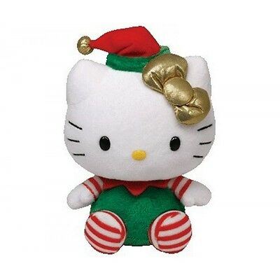 Ty Hello Kitty The Beanie Babies Collection Plüsch 15cm Weihnachten Christmas