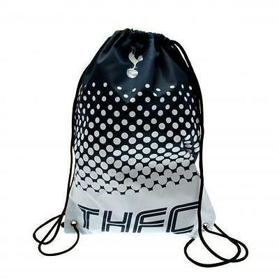 Tottenham Hotspur FC Official Licensed Football Product Drawstring Gym Bag Fade