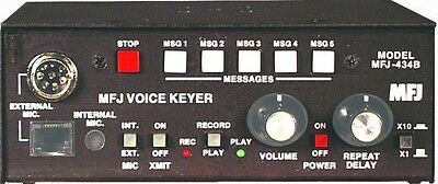 MFJ 434B Voice Keyer - SM TECHNOLOGY