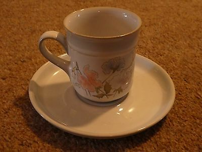 Denby Dauphine/Encore coffee cup with saucer