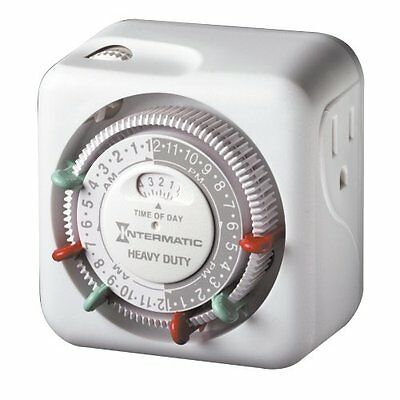 Intermatic 120 Volts Heavy Duty Grounded Indoor Timer TN311C