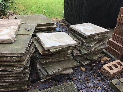Reclaimed Natural Stone Paving Flags