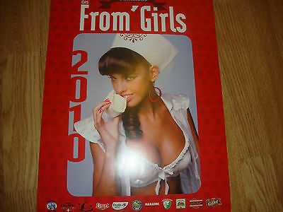 Calendriers des From'Girls ( fromages de France)