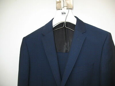 Prom Wedding Blue Slim Fit Mens Suit Kin from John Lewis 36R 32L