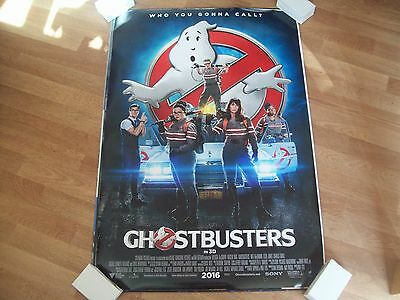 Ghostbusters 2016 Cinema one sheet Poster full size ORIGINAL