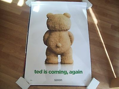 Ted 2 Cinema one sheet Poster full size ORIGINAL seth MacFarlane