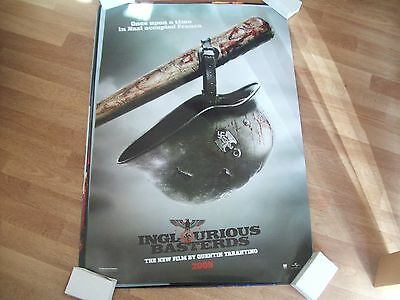 Inglourious Basterds Cinema one sheet Poster full size ORIGINAL Tarantino C