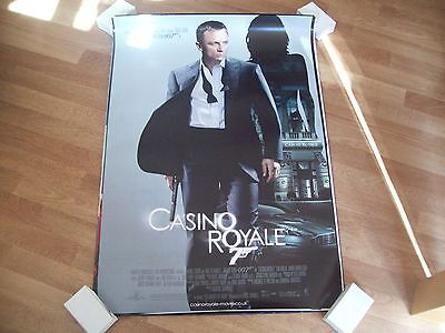 Casino Royale Cinema one sheet Poster full size Daniel Craig